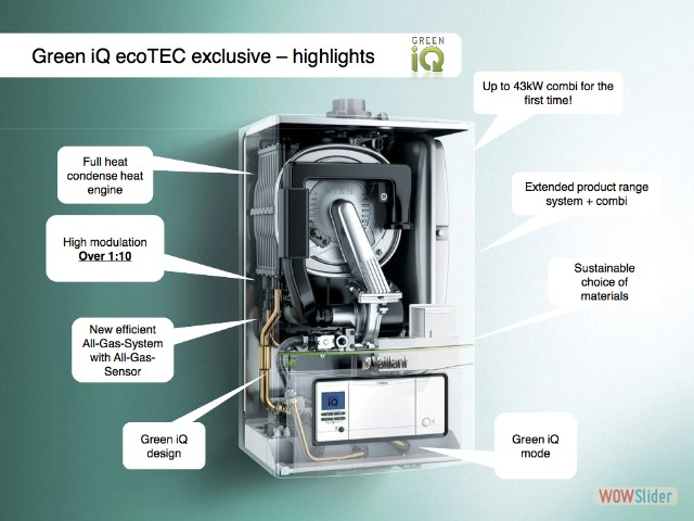 8 Green iQ eco Tec
